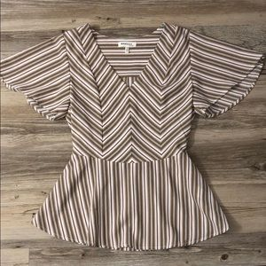 Stripped top